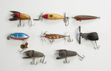 8 Fishing Lures incl Crazy Crawlers