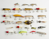 25 Fishing Lures incl Eagle Claw