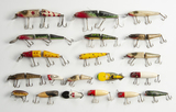 20 Fishing Lures incl Lucky's