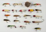 20 Fishing Lures incl Paw Paw