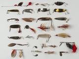 25 Spinner Lures incl Gibbs