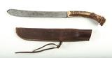 Large Woodsman's Knife w/ Sheath