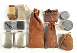Leather Possibles Bag Loaded w/ Possibles