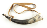 Large Contemporary Powder Horn