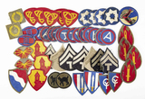 Collection of 50 U.S. Military Patches