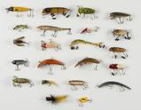 22 Fishing Lures incl Heddon