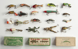 20 Fishing Lures and 3 Boxes