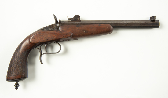 Flobert-style .22 Target Pistol