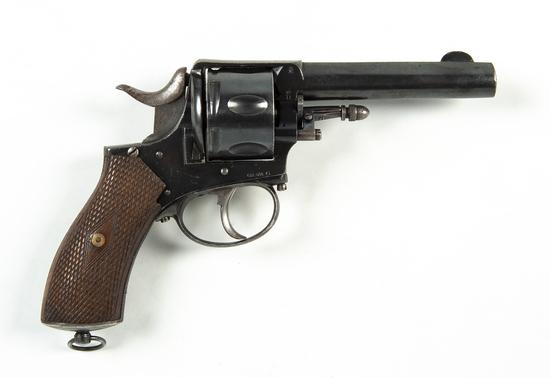 Belgian Copy of Early Webley Revolver