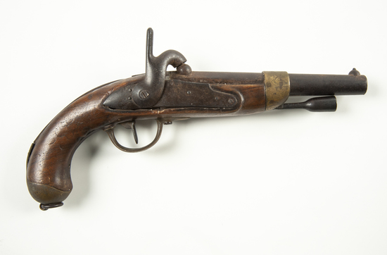 French M1822 Percussion Pistol