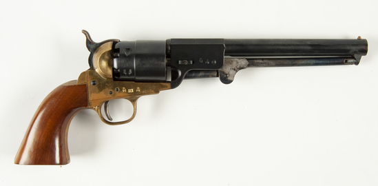 Repro Colt .44 Revolver & Accoutrements in Case