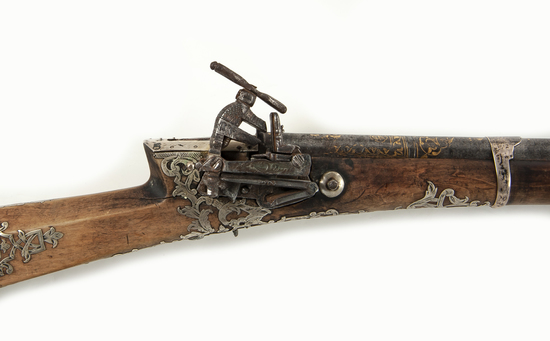 Turkish/Middle Eastern Decorated Long Gun