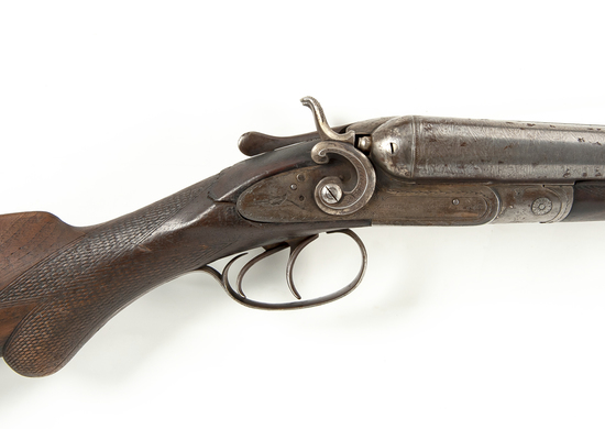 12 Ga. Damascus Double Shotgun, Manhattan Arms Co.