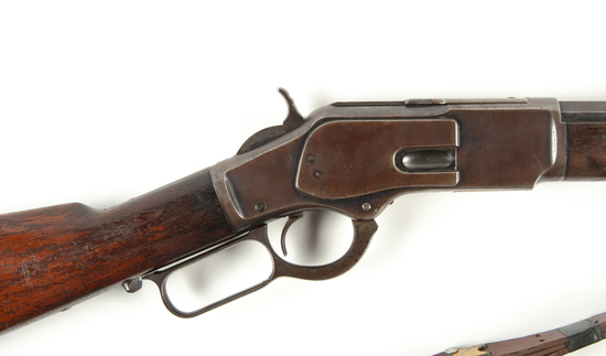 Winchester 1873 Atl. Police #59 Rifle .44 WCF Cal