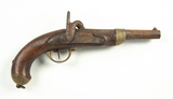 French 19th Century Percussion Military Pistol