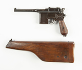 Mauser C96 Broomhandle Pistol---Chinese Contract