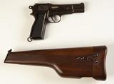 FN Browning Hi-Power MKI Inglis Cal. 9mm
