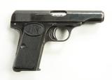 FN Browning Model 1910 Cal. 7.65mm Pistol