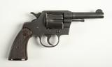 Colt Commando WW2 Military 38 Spl Revolver