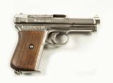 Mauser Model 1914 Cal. 7.65 Semi-auto Pistol