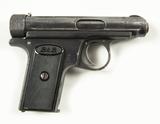 J.P. Sauer & Sohn Suhl Model 1913 Cal. 7.65 Pistol
