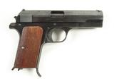 Nazi Marked Hungarian Femaru P. Mod 37 Cal. 7.65mm