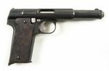 Astra Model 400 (1921) 9mm Pistol