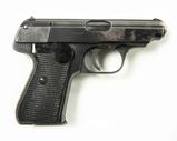 J. P.  Sauer & Sohn Pistol, Cal. 7.65 (.32 ACP)