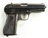 CZ Model 27 WWII Nazi Police Pistol, Cal. 7.65