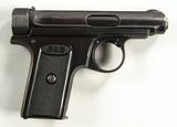 J.P. Sauer Model 1913, Second Variant .7.65 Pistol