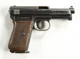 Mauser Model 1914 7.65mm Semi-Auto Pistol