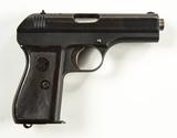 CZ 27 Cal. 7.65 Semi-Auto Pistol