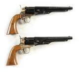 Cased Pair Colt Pistols