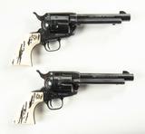 Sequential Pair- Taurus Single Action 357 Magnum