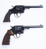 Two Colt D.A. Army Revolvers (1902/1903) .38 Cal.