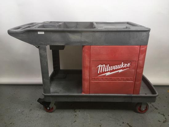 Milwaukee Heavy-duty Trade Titan Industrial Cart