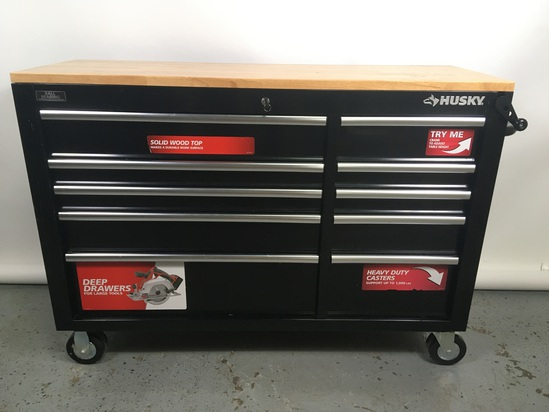 "Husky 54"" Rolling Tool Cart"