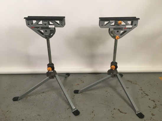 Pair Rockwell Saw Stands