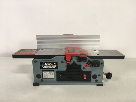 """Delta 6"""" Variable Speed Bench Jointer"""