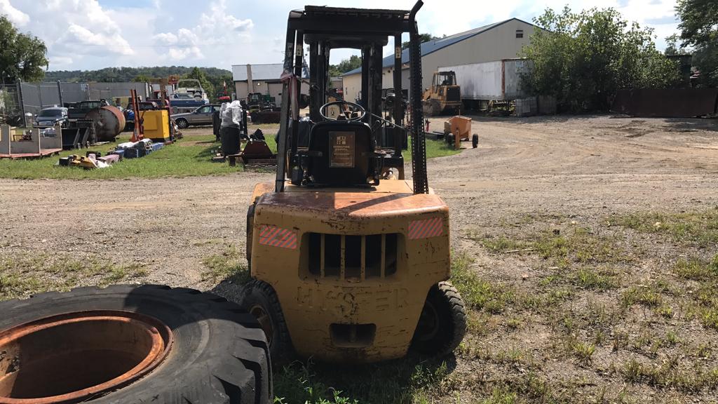 Lot: Hyster H50XL Rough Terrain Forklift | Proxibid Auctions