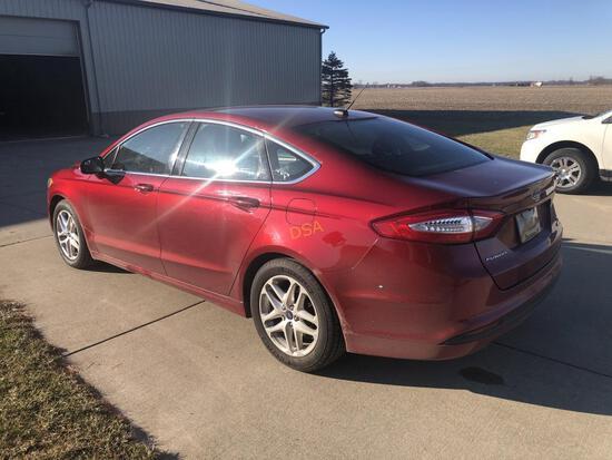 2013 Ford Fusion SE Car,