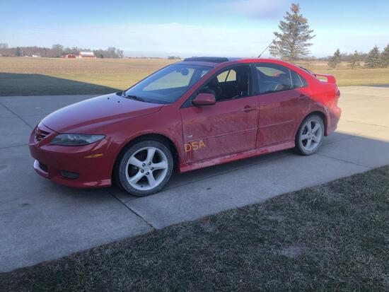 2005 Mazda 6 Automobile,