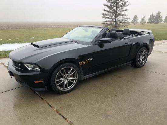 2011 Ford Mustang GTO Convertible Car,