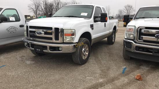 2008 Ford F250XLT Extended Cab Pickup Truck,