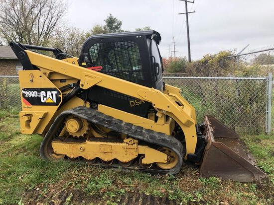 2015 Cat 299D Track Skid Loader,