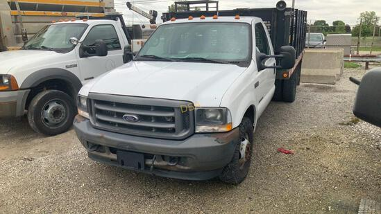Ford F350 Stakeside Flatbed Truck,