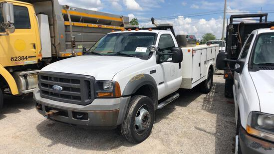 2005 Ford F-450 Service Truck,
