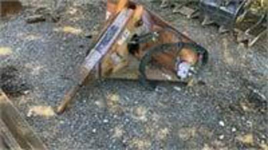 1990 Ditch Witch 12' 4 Ton Tag Trailer VIN# 008665,