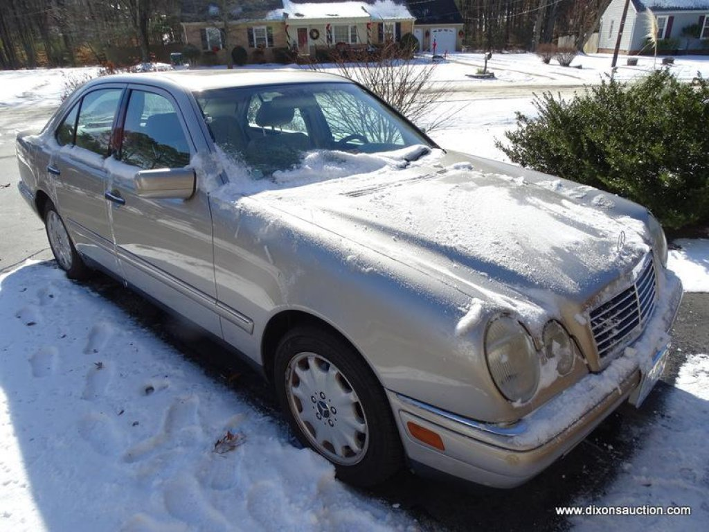 MERCEDES-BENZ 1999 E320 4 DOOR SEDAN WITH ONLY 87,910 MILES. THIS CAR IS LOADED. IN VERY GOOD