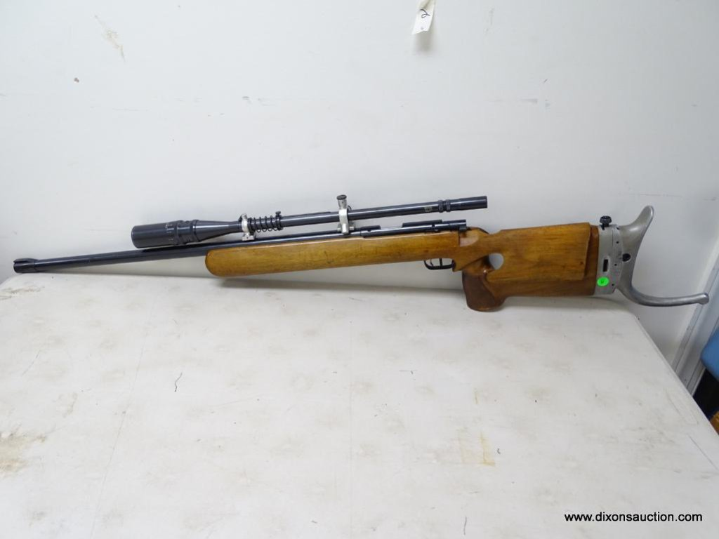 Lot: ANSCHUTZ SUPER MATCH 54 TARGET RIFLE #26186  22 LR SINGLE SHOT